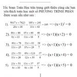 (025) Phương trình phân bậc 2